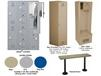 LENOX® PLASTIC LOCKER OPTIONS